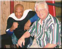 Don with George Foreman